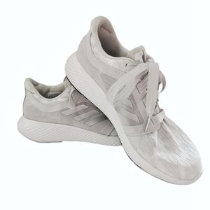 Adidas Women's Edge Lux 3 silver grey shoes size 7